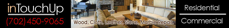 Las Vegas, NV Furniture Leather Repair - E-mail us at intouchup@hotmail.com