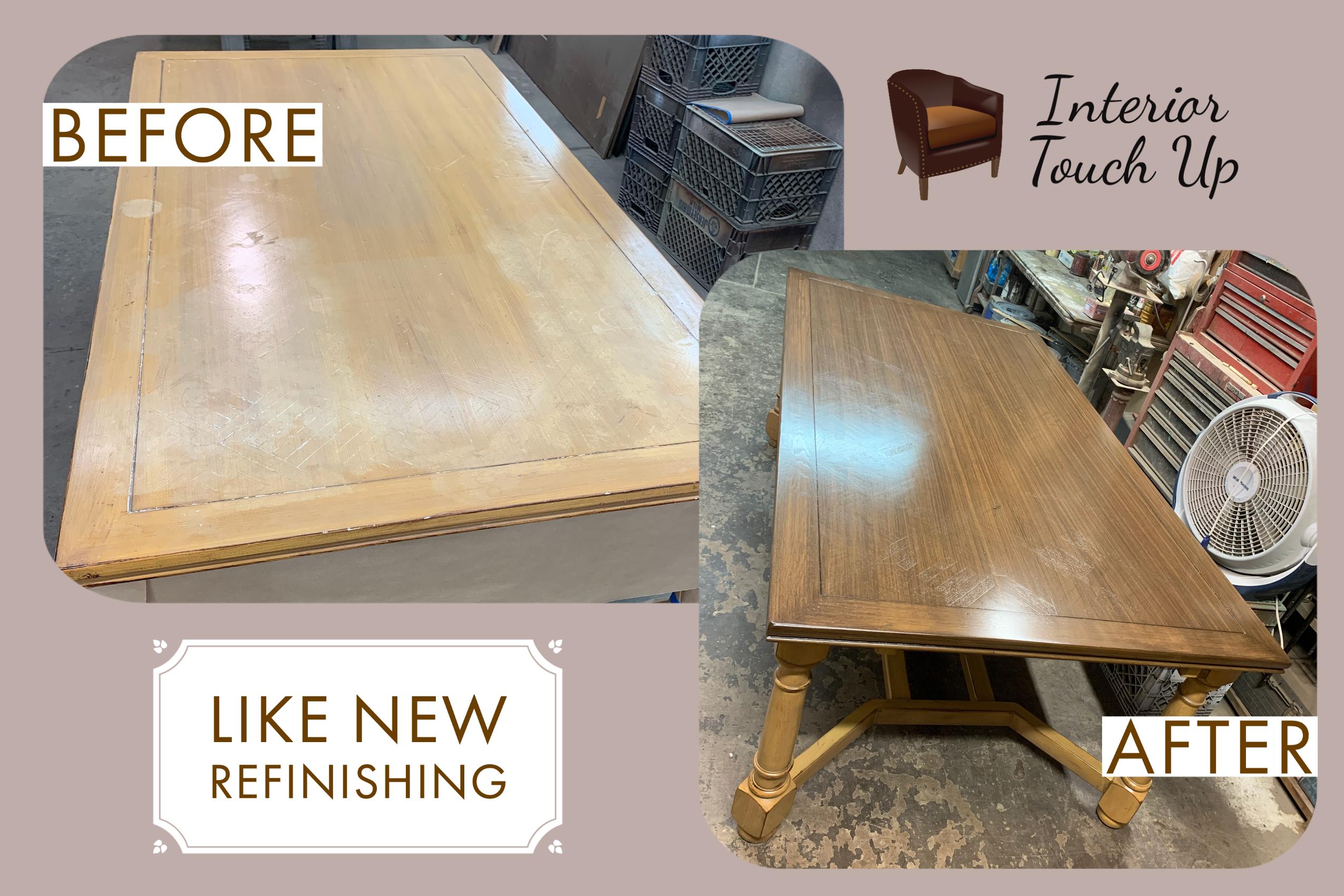 Expert Wood Refinishing
